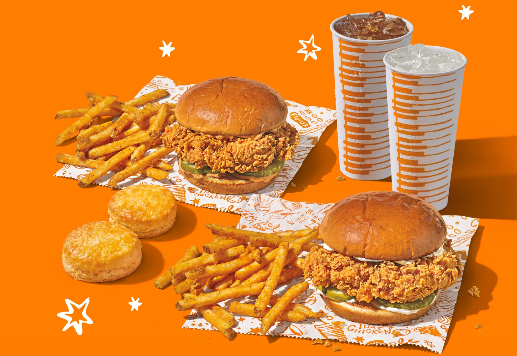 Popeyes Chicken Introduces their New $18 Double Sandwich Combo with Sandwiches, Sides & More