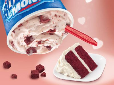 Buy 1 DQ Blizzard and Get 1 for $0.99 with In-app Dairy Queen Orders this Valentine's Day Weekend