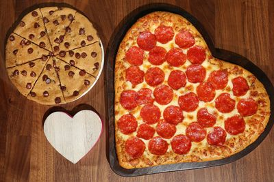 Select Pizza Hut Restaurants are Serving Up Seasonal Heart-Shaped Pizzas for Valentine's