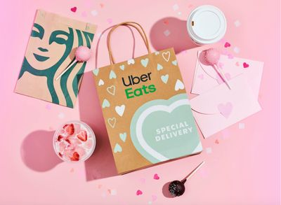 February 14 Only: Save 50% Off Your Starbucks Order Through Uber Eats (With Up to $10 in Savings)