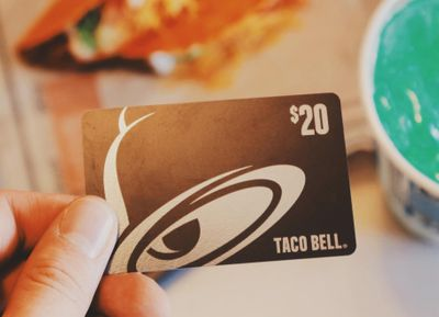 February 14 and 15: Enjoy 10% Off Taco Bell eGift Cards When You Spend $20 or More
