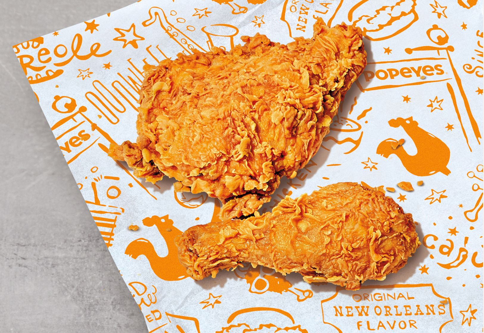 Get 2 Pieces of Popeyes' Classic Bone In Chicken for Free with Your First $10+ Digital Order for a Limited Time