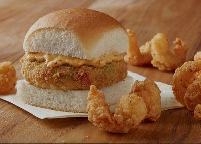 Shrimp Nibblers, the Panko Breaded Fish Slider, Seafood Crab Cake Slider & More Return to White Castle
