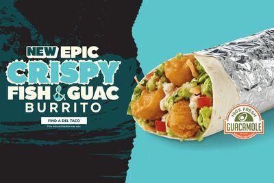 Del Taco Debuts the New Epic Crispy Fish & Guac Burrito and the Crispy Jumbo Shrimp Burrito