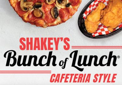 All You Can Eat Bunch of Lunch is Back at Shakey's Pizza From 11 to 2 PM Daily