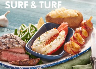 Lobsterfest Continues with the New Ultimate Surf & Turf Meal at Red Lobster