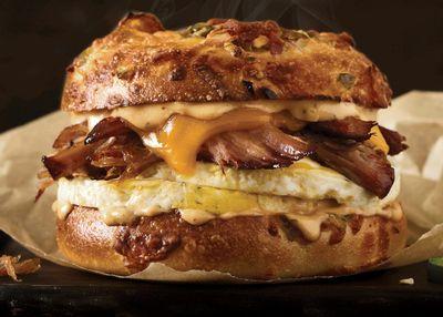 Einstein Bros. Bagels Offers Brisket for Breakfast with the New Texas Brisket Egg Sandwich