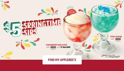 Applebee's STEAL DEAL: Springtime Sips Cocktails for ONLY $5