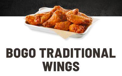 Buffalo Wild Wings Buy One Get One Free Wings Deal!