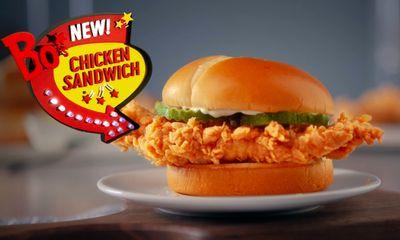 "Bojangles New ""Bo's Chicken Sandwich"""