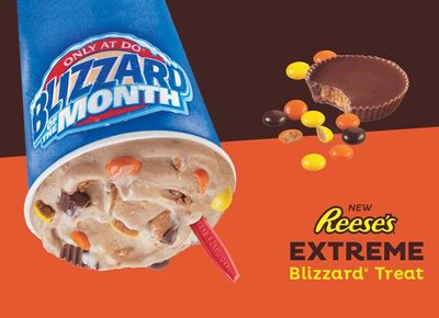 Reese's Extreme Blizzard Returns to Dairy Queen as the Newest Blizzard of the Month