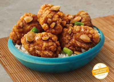 Receive a $3 Off Coupon When You Order a 2 Item Plate Online with the New Crispy Almond Chicken Breast at Panda Express