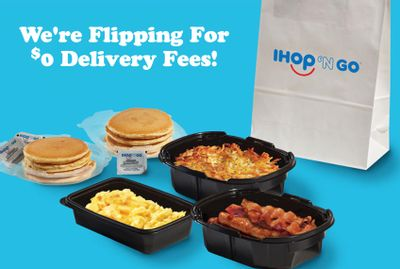 Enjoy a $0 Delivery Fee with In-app or Online IHOP Orders Through to September 12
