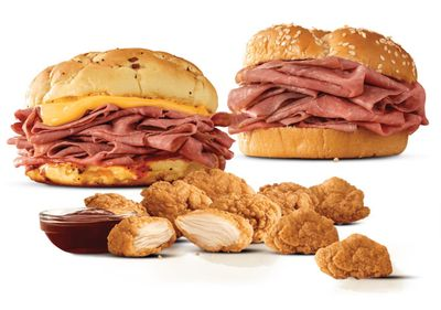 The Popular 2 for $6 Everyday Value Menu at Arby's Gets a Limited Time Only Upgrade