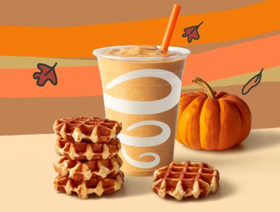 On August 26 and 27 My Jamba Rewards Members Can Get a $1 Waffle with a Select Beverage Purchase Online
