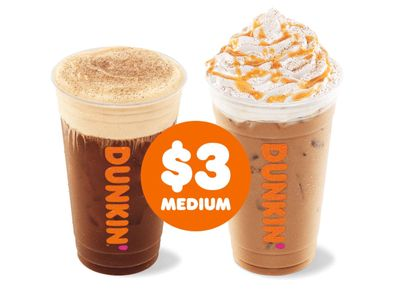 New Pumpkin Cream Cold Brew and Pumpkin Spice Signature Latte Now Available at Dunkin' Donuts