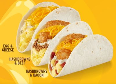 Del Taco Launches 3 New Double Cheese Breakfast Tacos