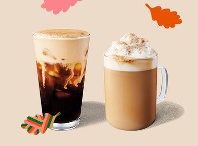 Popular Pumpkin Spice Drinks are Back at Starbucks this Fall Season