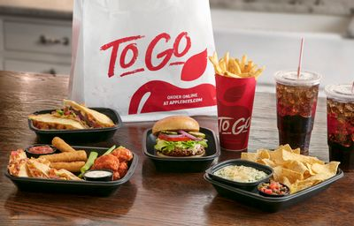 """Save $5 When You Use """"Applebee's To Go"""" for the First time on a $25+ In-app or Online Order"""