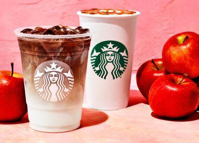 The New Apple Crisp Macchiato and the Iced Apple Crisp Macchiato Arrive at Starbucks