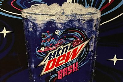 New Mountain Dew Dark Berry Bash is Now Available at Applebee's