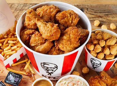 Save 20% on a $25 KFC Order Through Grubhub Every Sunday and Monday Through to October 25, 2021