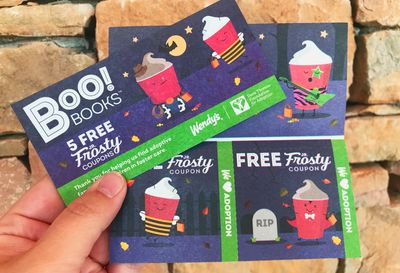 $1 Boo! Books Have Made their Seasonal and Money Saving Return to Wendy's this Fall