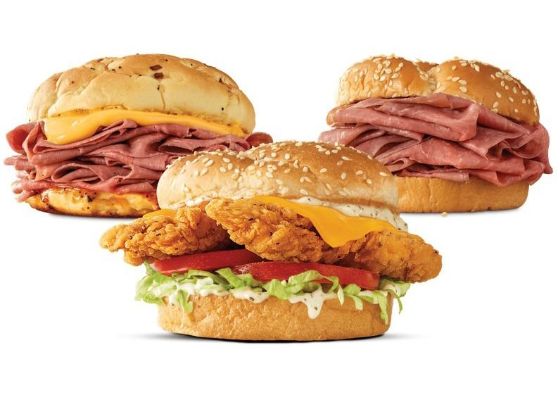 Arby's Reinvigorates the 2 for $6 Menu with the Popular Chicken Cheddar Ranch Sandwich