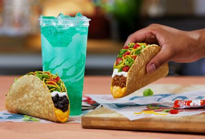 The New Cantina Crispy Melt Taco Lands at Taco Bell for a Limited Time