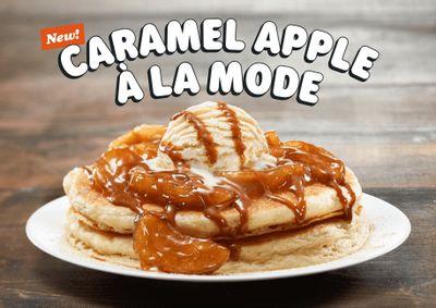 IHOP Rolls Out New Caramel Apple à la Mode Pancakes on Their In-restaurant Menu